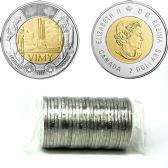 2 DOLLARS -  ROULEAU ORIGINAL DE 2 DOLLARS 2017