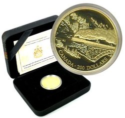 200 DOLLARS -  CHEMIN DE FER DU CANADIEN PACIFIQUE -  PIÈCES DU CANADA 1996