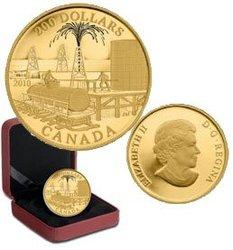 200 DOLLARS -  INDUSTRIE DE L'HUILE ET DU PÉTROLE -  PIÈCES DU CANADA 2010