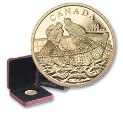 200 DOLLARS -  INDUSTRIE DE LA PECHE -  PIÈCES DU CANADA 2007
