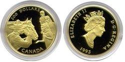 200 DOLLARS -  LA GENDARMERIE ROYALE DU CANADA -  PIÈCES DU CANADA 1993