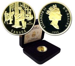 200 DOLLARS -  LES SUCRES -  PIÈCES DU CANADA 1995
