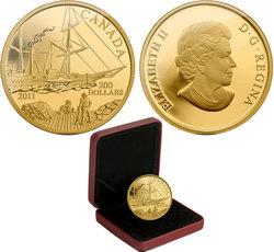 200 DOLLARS -  S.S. BEAVER -  PIÈCES DU CANADA 2011