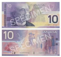 2001 -  10 DOLLARS 2001, KNIGHT/DODGE (AU)