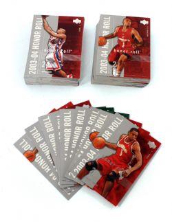 2003-04 BASKETBALL -  SÉRIE HONOR ROLL (90 CARTES)