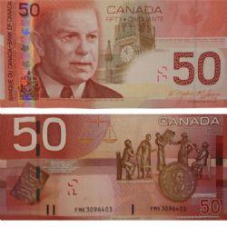 2004 -  50 DOLLARS 2004, JENKINS/CARNEY (UNC)