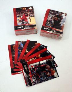 2005-06 BASKETBALL -  SÉRIE UPPER DECK ESPN (100 CARTES)