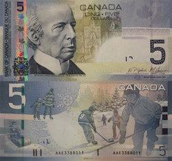 2006 -  5 DOLLARS 2006, JENKINS/CARNEY (CUNC)