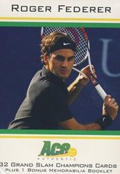 2011 TENNIS -  ROGER FEDERER GRAND SLAM BOX SET (P32)