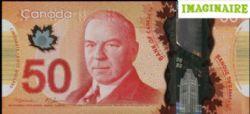 2012 -  50 DOLLARS 2012 EN POLYMÈRE, MACKLEM/CARNEY (GUNC)