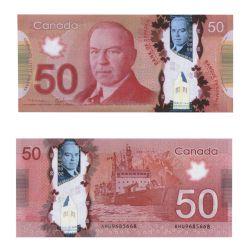 2012 -  50 DOLLARS 2012 EN POLYMÈRE, MACKLEM/CARNEY (UNC)