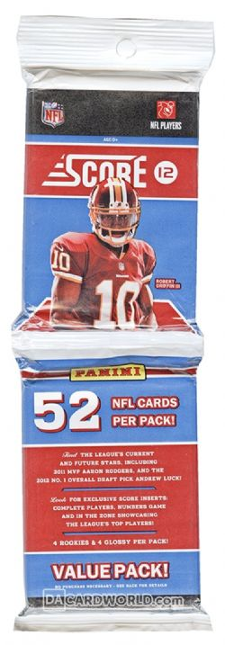 2012 FOOTBALL -  PANINI - SCORE RACK PACK - WILSON & LUCK ROOKIES!!!
