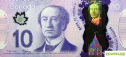 2013 -  10 DOLLARS 2013 EN POLYMÈRE,  MACKLEM/CARNEY (GUNC)