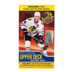 2014-15 HOCKEY -  UPPER DECK SERIES 1 HOCKEY 12-PACK BOX