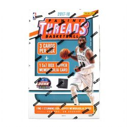 2017-18 BASKETBALL -  PANINI THREADS BASKETBALL 5X7 JUMBO JERSEY BLASTER BOX