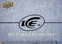 2017-18 CARTES DE HOCKEY -  1 PLACE POUR CASE BREAK UPPER DECK ICE 2017-18 (1 INNER) -  UPPER DECK ICE