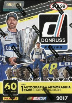2017 NASCAR -  PANINI DONRUSS - RACING - BLASTER BOX