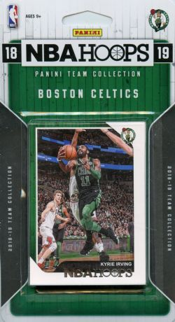 2018-19 BASKETBALL -  ENSEMBLE PANINI NBA HOOPS DES CELTICS DE BOSTON (9 CARTES)