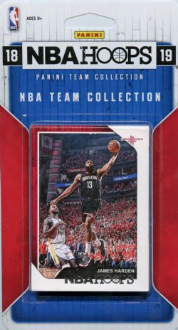 2018-19 BASKETBALL -  ENSEMBLE PANINI NBA HOOPS DES ROCKETS DE HOUSTON (8 CARTES)