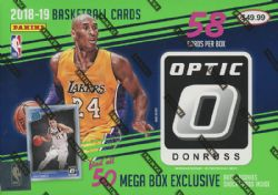 2018-19 BASKETBALL -  PANINI DONRUSS OPTIC MEGA BOX (P58)