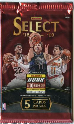 2018-19 BASKETBALL -  PANINI SELECT (P5/B12)