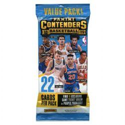 2018-19 CARTES DE BASKETBALL -  PANINI CONTENDERS (P30/B12)