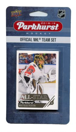 2018-19 HOCKEY -  ENSEMBLE PARKHURST DES ALL-STAR OUEST (10 CARTES)