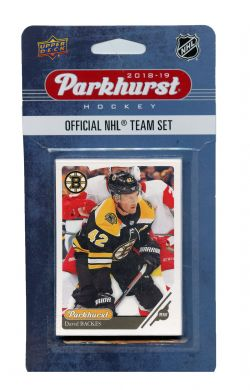 2018-19 HOCKEY -  ENSEMBLE PARKHURST DES BRUINS DE BOSTON (10 CARTES)