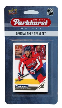 2018-19 HOCKEY -  ENSEMBLE PARKHURST DES CAPITALS DE WASHINGTON (10 CARTES)