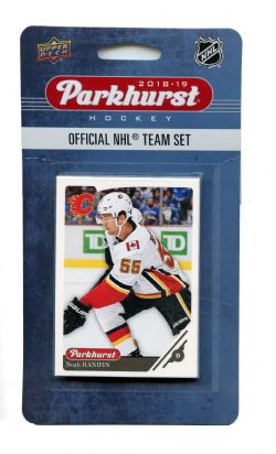 2018-19 HOCKEY -  ENSEMBLE PARKHURST DES FLAMES DE CALGARY (10 CARTES)