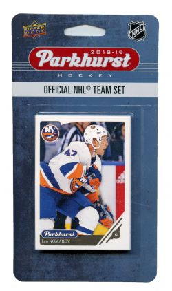 2018-19 HOCKEY -  ENSEMBLE PARKHURST DES ISLANDERS DE NEW YORK (10 CARTES)