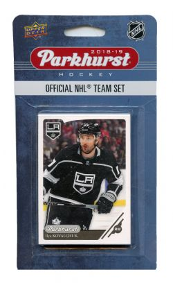 2018-19 HOCKEY -  ENSEMBLE PARKHURST DES KINGS DE LOS ANGELES (10 CARTES)