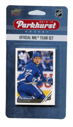 2018-19 HOCKEY -  ENSEMBLE PARKHURST DES MAPLE LEAFS DE TORONTO (10 CARTES)