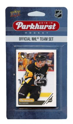 2018-19 HOCKEY -  ENSEMBLE PARKHURST DES PENGUINS DE PITTSBURGH (10 CARTES)