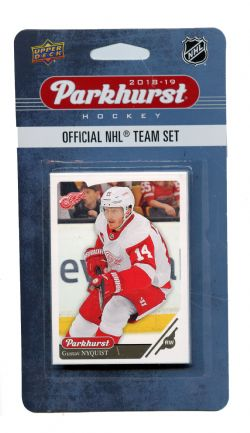 2018-19 HOCKEY -  ENSEMBLE PARKHURST DES RED WINGS DE DETROIT (10 CARTES)