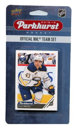 2018-19 HOCKEY -  ENSEMBLE PARKHURST DES SABRES DE BUFFALO (10 CARTES)