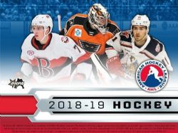 2018-19 HOCKEY -  UPPER DECK AMERICAN HOCKEY LEAGUE