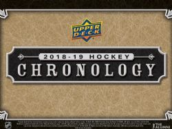 2018-19 HOCKEY -  UPPER DECK CHRONOLOGY VOLUME 1 (P4/B1)