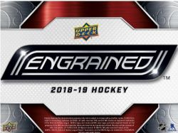 2018-19 HOCKEY -  UPPER DECK ENGRAINED (P6/B1)