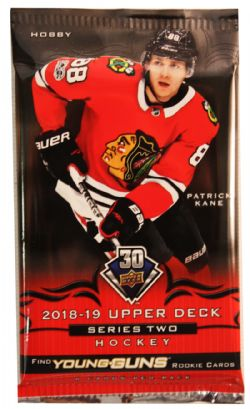2018-19 HOCKEY -  UPPER DECK SERIES 2 HOBBY (P8/B24/C12)