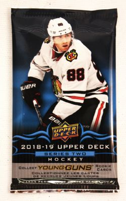 2018-19 HOCKEY -  UPPER DECK SERIES 2 RETAIL (P8/B24/C20)