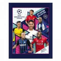 2018-19 SOCCER -  AUTOCOLLANTS TOPPS UEFA CHAMPION LEAGUE (P5/B30)