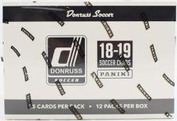 2018-19 SOCCER -  PANINI DONRUSS - JUMBO/FAT PACK BOX