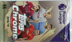 2018-19 SOCCER -  TOPPS CHROME PREMIER LEAGUE (P4/B18)