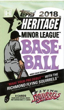 2018 BASEBALL -  TOPPS HERITAGE MINOR LEAGUE BASEBALL (P8/B18)