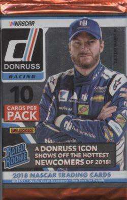 2018 NASCAR -  PANINI DONRUSS RACING (P10/B24)