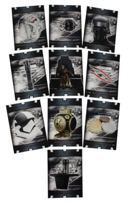 2018 STAR WARS -  TOPPS - THE LAST JEDI SERIES 2 ITEMS AND ARTIFACTS SET (20 CARTES)