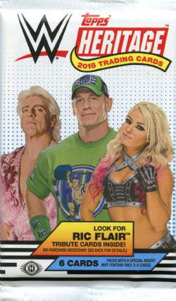 2018 WWE -  TOPPS HERITAGE (P6/B24)