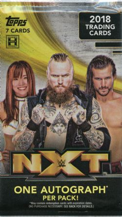 2018 WWE -  TOPPS NXT (P7/B10)