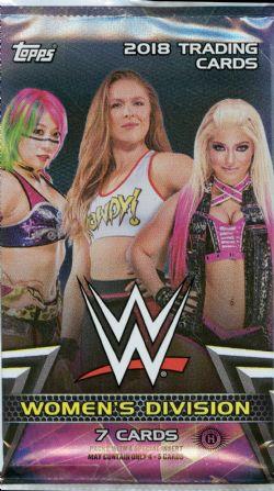 2018 WWE -  TOPPS WOMEN'S DIVISION (P7/B24)